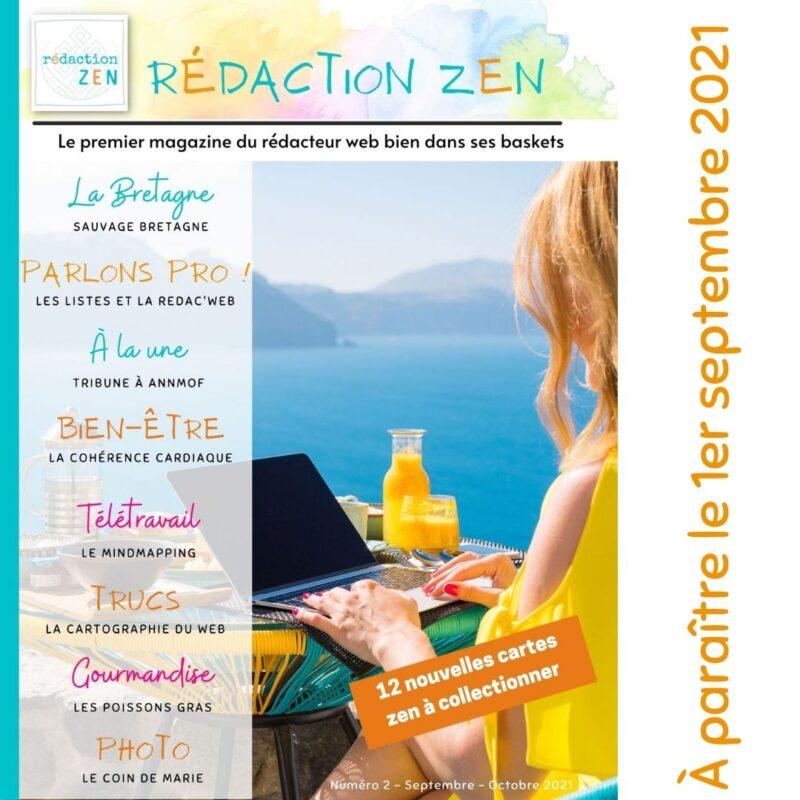 rédactrice web magazine n° 2